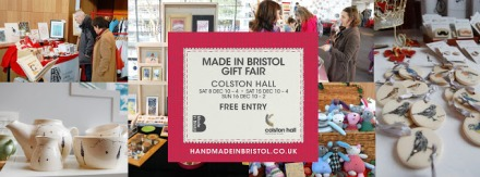 The Made In Bristol gift fair